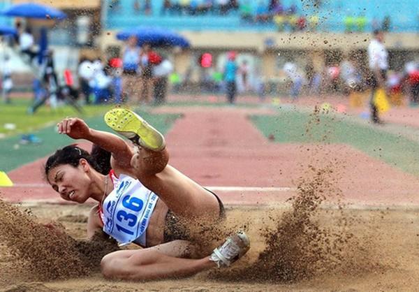 Tuyển Việt Nam xếp hạng 3 Grand Prix điền kinh châu Á