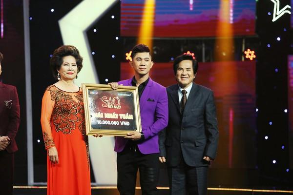 Lương Bằng Quang chiến thắng tập 2 Sao nối ngôi