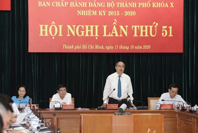 Bế mạc Hội nghị lần thứ 51 Ban Chấp hành Đảng bộ TP HCM khóa X  - Ảnh 1.