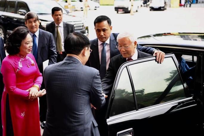 Tổng Bí thư, Chủ tịch nước Nguyễn Phú Trọng dự và chỉ đạo Đại hội Đảng bộ TP Hà Nội XVII - Ảnh 6.