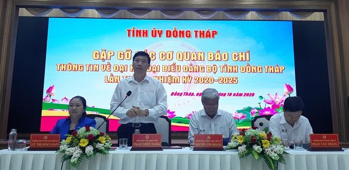 Ông Lê Minh Hoan vẫn lãnh đạo Đại hội Đảng bộ tỉnh Đồng Tháp - Ảnh 3.
