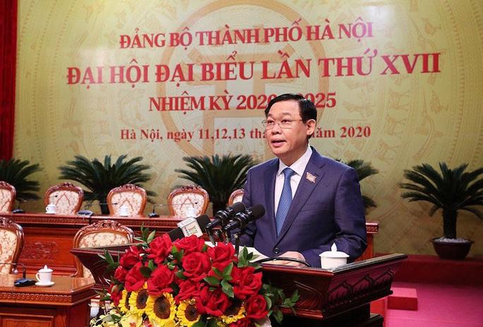 Tổng Bí thư, Chủ tịch nước Nguyễn Phú Trọng dự và chỉ đạo Đại hội Đảng bộ TP Hà Nội XVII - Ảnh 4.