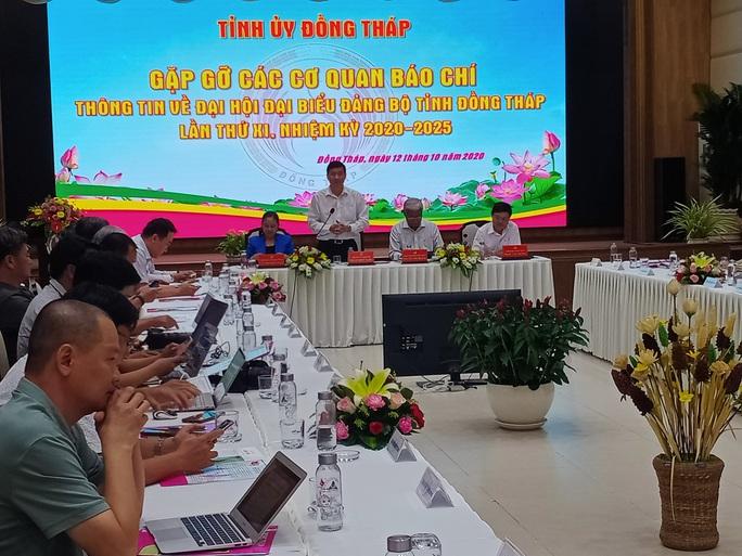 Ông Lê Minh Hoan vẫn lãnh đạo Đại hội Đảng bộ tỉnh Đồng Tháp - Ảnh 2.