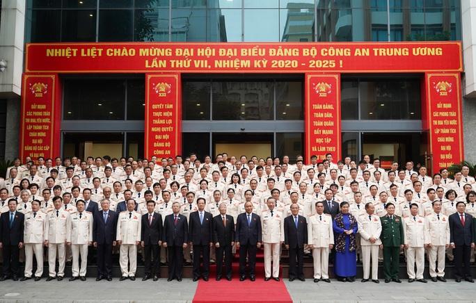 Thủ tướng Nguyễn Xuân Phúc dự, chỉ đạo Đại hội Đảng bộ Công an Trung ương - Ảnh 5.