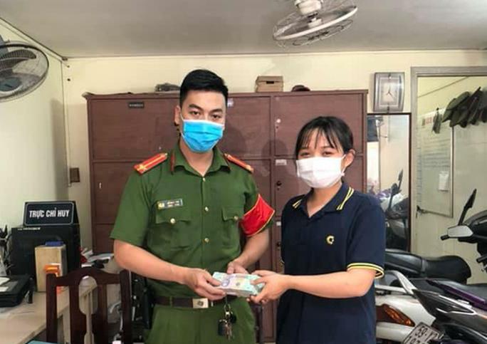 Nữ sinh viên nhờ công an tìm người đánh rơi 200 triệu đồng gần Bệnh viện Ung Bướu TP HCM - Ảnh 1.