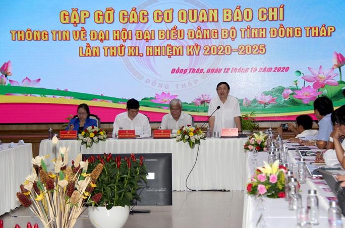 Ông Lê Minh Hoan vẫn lãnh đạo Đại hội Đảng bộ tỉnh Đồng Tháp - Ảnh 4.
