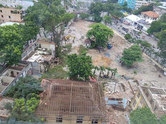 Tự ý tháo dỡ biệt thự cổ ở quận 3 - Ảnh 2.