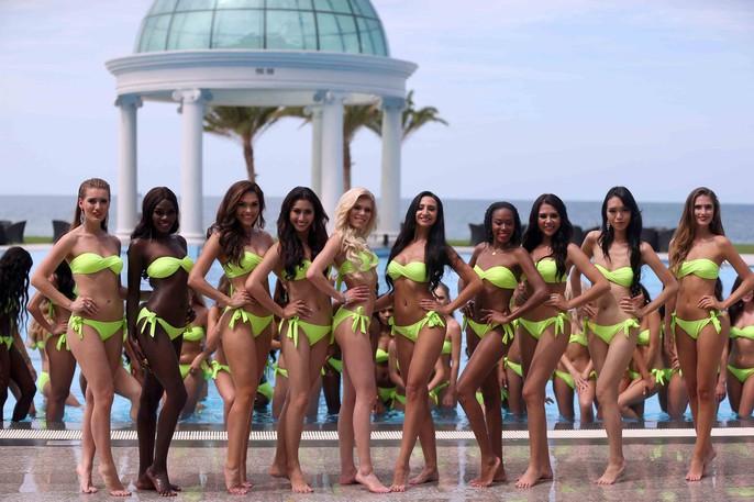 Cùng ngắm những người đẹp Miss Grand International thi bikini - Ảnh 6.