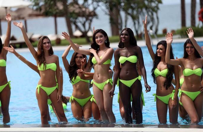 Cùng ngắm những người đẹp Miss Grand International thi bikini - Ảnh 9.