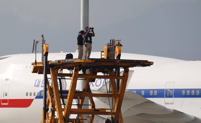 APEC 2017: Tổng thống Mỹ rời Đà Nẵng, bay đến Hà Nội - Ảnh 4.