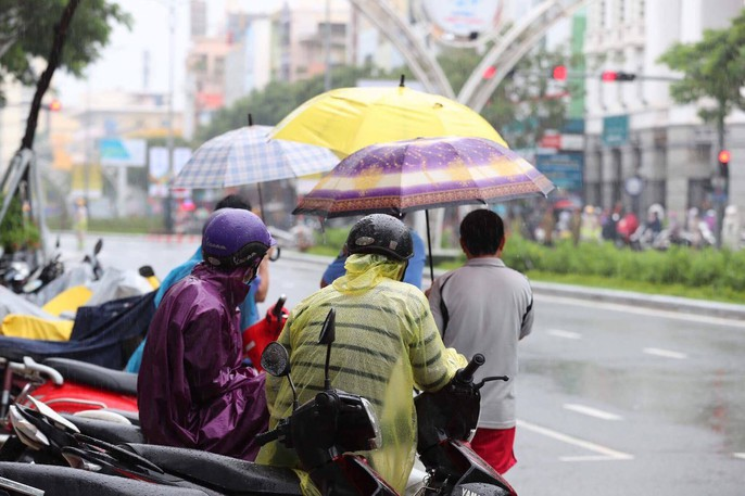 APEC 2017: Người dân Đà Nẵng đội mưa chờ xem quái thú - Ảnh 5.