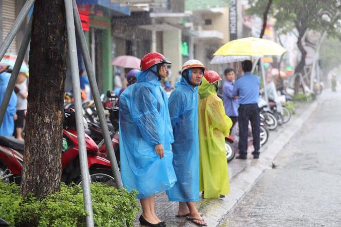 APEC 2017: Người dân Đà Nẵng đội mưa chờ xem quái thú - Ảnh 2.