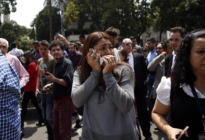 Động đất mạnh giáng xuống Mexico, hơn 130 người chết - Ảnh 2.