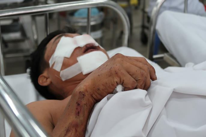 Phút sinh tử vụ tai nạn trên cao tốc TP HCM - Long Thành - Ảnh 2.