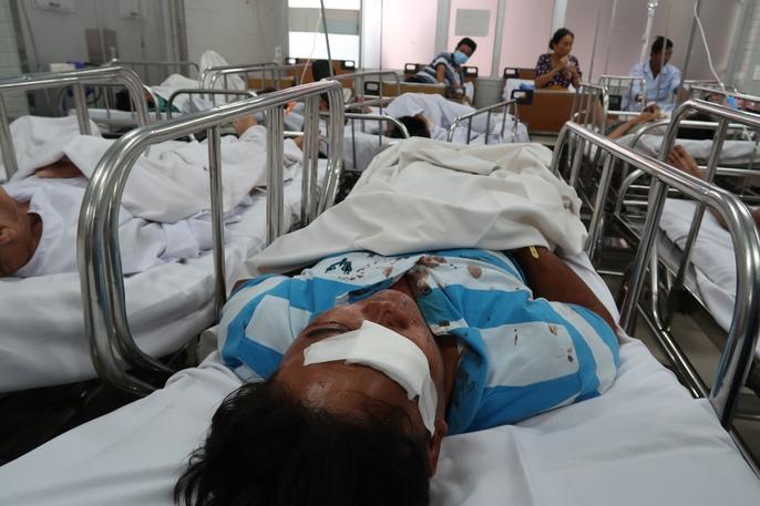 Phút sinh tử vụ tai nạn trên cao tốc TP HCM - Long Thành - Ảnh 3.