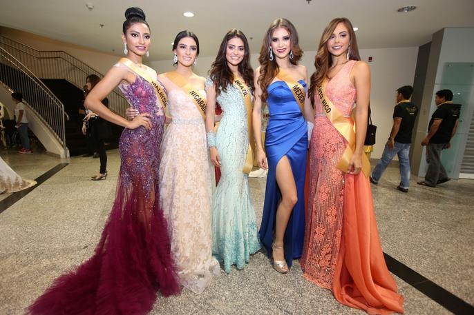 Màn chào sân ấn tượng của các thí sinh Miss Grand International 2017 - Ảnh 3.