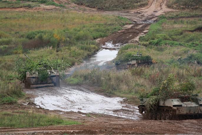 """Cận cảnh cuộc tập trận """"khủng"""" của Nga Belarus"""
