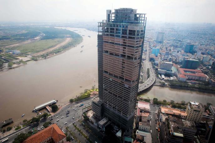 Cận cảnh hàng loạt dự án của các đại gia bị ngân hàng ráo riết siết nợ - Ảnh 15.