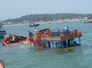 Một ngư dân liều mình cứu hộ tàu chìm