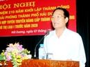 Làm việc với TP Hải Dương về đơn từ chức của bí thư thành ủy