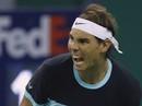 """Nadal thắng khó """"máy giao bóng"""" Karlovic, Ferrer dừng bước trận ra quân"""