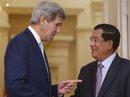 Ông Kerry gặp Thủ tướng Campuchia