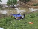 Rơi xuống hồ nước, 3 anh em tử vong