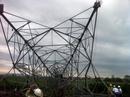 """Cột điện 500 KV bị """"giật"""" đổ, mất điện diện rộng"""
