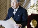"""Hoàng gia bác tin Nhật hoàng Akihito """"muốn thoái vị"""""""