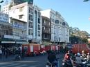 Cháy khách sạn Đà Lạt, du khách tháo chạy vào sáng sớm