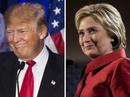 """Ông Trump và bà Clinton sắp """"đấu khẩu"""" trực tiếp"""