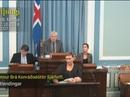 Nữ nghị sĩ vừa cho con bú vừa phát biểu trước quốc hội