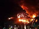 Cháy chợ Sơn, hơn 130 ki ốt bị thiêu rụi trong đêm