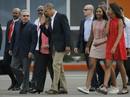 """""""Cử chỉ thân mật"""" của Chủ tịch Castro dành cho ông Obama"""