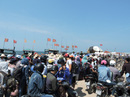 Biển động hơn ngàn du khách bị kẹt tại Lý Sơn