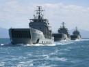 """""""Vai kề vai"""" với Mỹ, Philippines thử tàu chiến mới"""