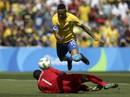 Neymar ghi bàn nhanh nhất Olympic, Brazil vào chung kết với Đức
