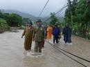 Mưa lũ uy hiếp, hàng trăm người dân Ninh Thuận phải sơ tán