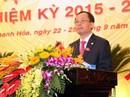 Bí thư Thanh hóa tái đắc cử Chủ tịch HĐND tỉnh