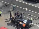 Siêu xe của ông Putin bị đâm nát trên đường cao tốc