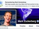 Mark Zuckerberg bị báo tử trên Facebook