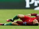 Rách dây chằng gối, Ronaldo nghỉ hết năm 2016
