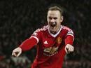 Rớt phong độ, Rooney vẫn liên tục phá mốc ghi bàn