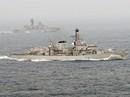 Tàu chiến NATO kè sát khu trục Nga qua vùng biển Anh