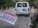 Nổ súng xối xả vào đoàn xe chở đội an ninh của ông Duterte
