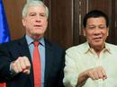 """Trùm tình báo Úc """"khổ"""" vì nắm đấm cạnh tổng thống Philippines"""
