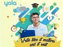 Nessa by YOLA tổ chức cuộc thi viết với tổng giá trị giải thưởng lên đến 50 triệu đồng