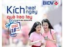 55.000 phần quà cho khách hàng dùng dịch vụ từ BIDV