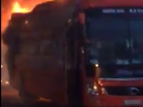 Cháy xe khách giường nằm trên đường Hồ Chí Minh