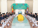 Việt Nam - Campuchia hợp tác toàn diện